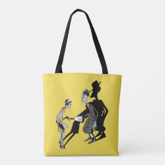 1920's Maid All-Over-Print Tote Bag