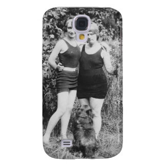 1920's Mother and Daughter in Swimsuits Galaxy S4 Covers