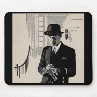 1920s Mr. Natty the sharp dressed man Mouse Pad