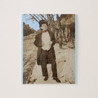 1920s vernacular photo classy young man jigsaw puzzle