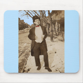 1920s vernacular photo classy young man mouse pad