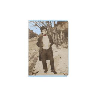 1920s vernacular photo classy young man passport holder