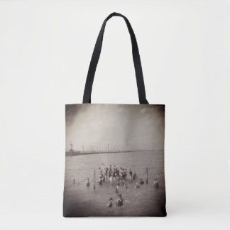 1920s Vintage Swimmers in Salt Lake Tote Bag