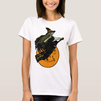 1920s Witch and Full Moon Shirt