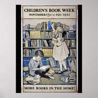 1921 Children's Book Week Poster