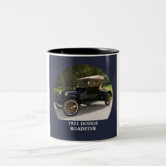 1921 Dodge Roadster Two-Tone Coffee Mug