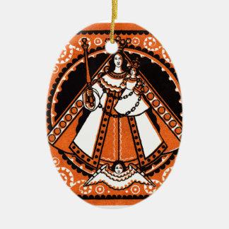 1921 Grace of Kevelaer Notgeld Banknote Ceramic Ornament