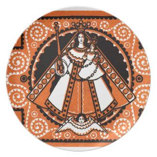 1921 Grace of Kevelaer Notgeld Banknote Dinner Plates