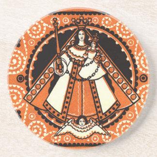 1921 Grace of Kevelaer Notgeld Banknote Drink Coasters