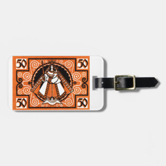 1921 Grace of Kevelaer Notgeld Banknote Luggage Tag