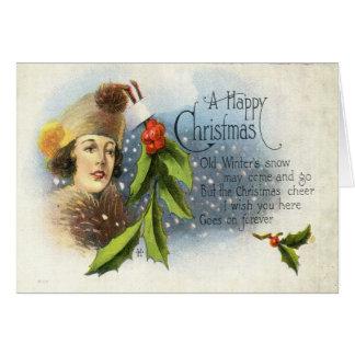 1922 A Happy Christmas Card