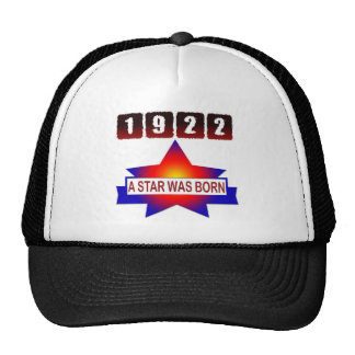 1922 A Star Was Born Mesh Hat