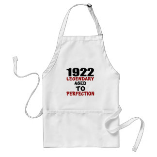 1922 LEGENDARY AGED TO PERFECTION STANDARD APRON
