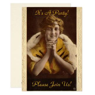 1922 Modern Girl Card