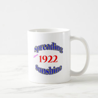 1922 Spreading Sunshine Mugs