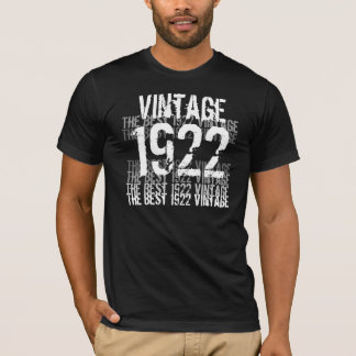 1922 Vintage - Birthday T-Shirt