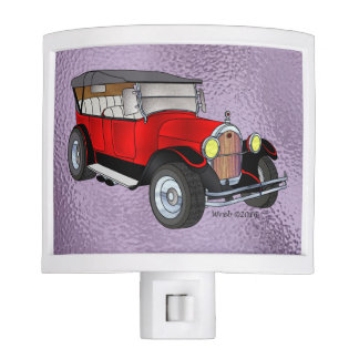 1923 Olds Touring, Red - Nite Lite