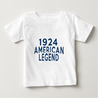 1924 American Legend Birthday Designs Baby T-Shirt