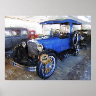 1924 Dodge Express Wagon Poster