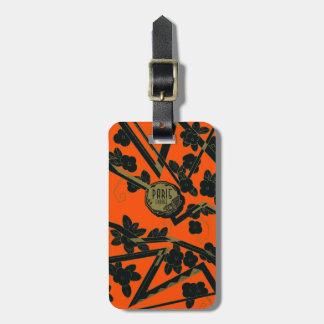 1925 Art Deco Paris France perfume Luggage Tag