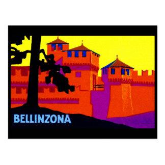 1925 Bellinzona Switzerland Postcard