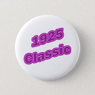 1925 Classic Purple 2 Inch Round Button