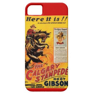 1925 Hoot Gibson Silent Western Movie ad iPhone 5 Cases