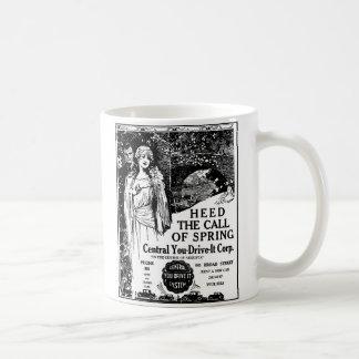 1926 Auto rental illustration Coffee Mug