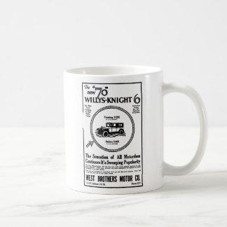 1926 Willys Knight auto illustration Coffee Mug