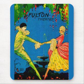 1927 Fulton Theatre program cover art Mouse Pad