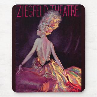 1927 Ziegfeld Theatre cover art Mouse Pad