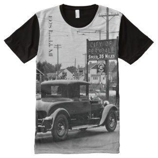 1928 Ferndale Michigan All-Over-Print T-Shirt