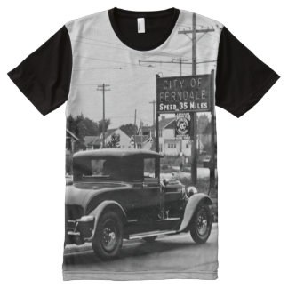 1928 Welcome to Ferndale Michigan All-Over-Print T-Shirt