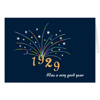 1929 A Very Good Year 86th Birthday Greeting Card