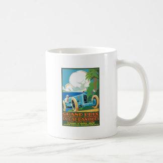 1929 Cap D'Antibes Grand Prix Racing Poster Coffee Mug