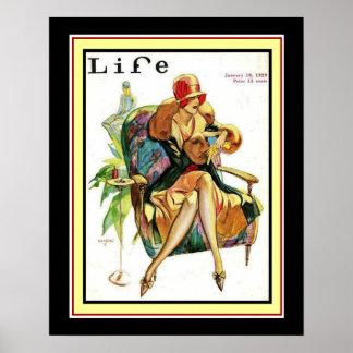 1929 Life Art Deco Cover 16 x 20 Poster
