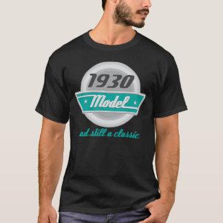 1930 Birth Year Birthday Vintage Model Mens Tshirt