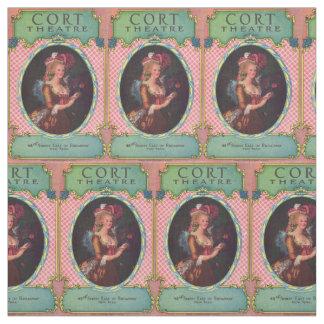 1930 Cort Theatre playbill cover Fabric