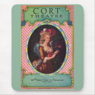 1930 Cort Theatre playbill cover Mouse Pad