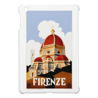 1930 Florence Italy Travel Poster iPad Mini Covers