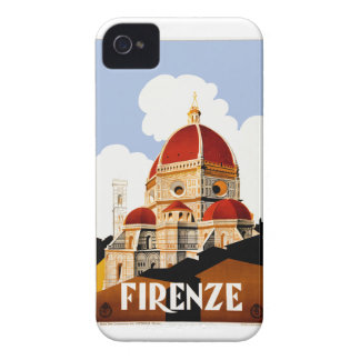 1930 Florence Italy Travel Poster iPhone 4 Case