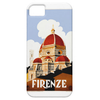 1930 Florence Italy Travel Poster iPhone 5 Cover