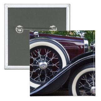 1930 Ford A Classic Car 2 Inch Square Button
