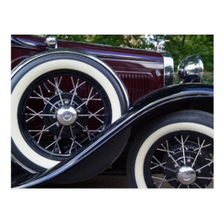 1930 Ford A Classic Car Postcard