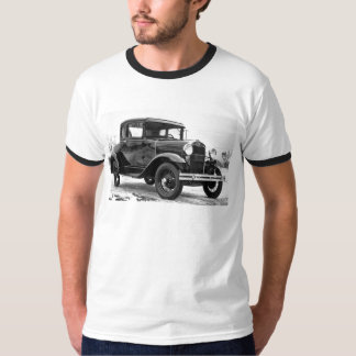 1930 Ford Model A Coupe - B&W T-Shirt