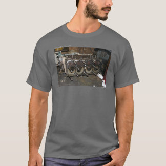 1930 Model A Engine images T-Shirt