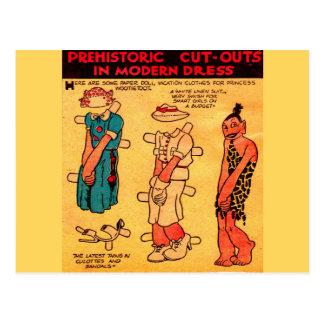 1930s comic strip paper doll Princess Wootietoot Postcard