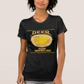 1930s Deer Brand Grapefruit Juice label T-Shirt