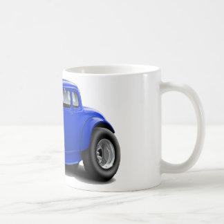1930's Hot Rod Blue Car Coffee Mug