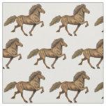 1930s Icelandic horse Fabric